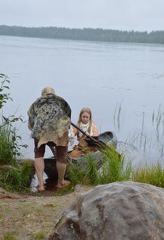Kivikaudella ruuhet valmistettiin yhdestä puusta veistämällä. Luuppi, Oulu (Finland)