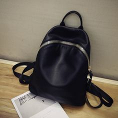 New Casual Women Backpack Female PU Leather Women's Backpacks Bagpack Bags Sport Travel Bag back pack