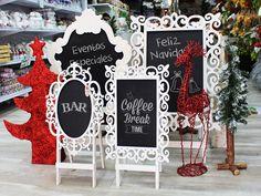 tableros, decoración de eventos, fiestas, banquetes Coffee Break, Chalkboard Quotes, Art Quotes, Fiestas, Wood, Cooking, Coffee Time