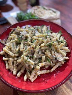 Ma recette de pâtes aux champignons et noix de cajou - Laurent Mariotte