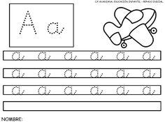 Fichas de lectoescritura para mejorar la letra - http://materialeducativo.org/fichas-de-lectoescritura-para-mejorar-la-letra/