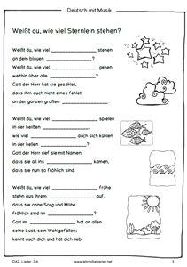 Mit Kinderliedern Deutsch lernen