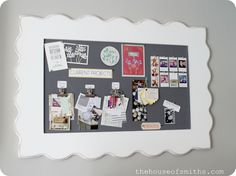 DIY Fabric Pin Board
