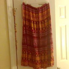 Mossimo Supply Co. Dresses & Skirts - A printed long skirt