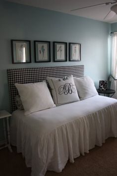 Guest bedroom color? Silvermist from Sherwin Williams