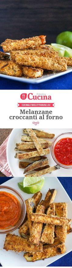 Ricetta Melanzane croccanti al forno