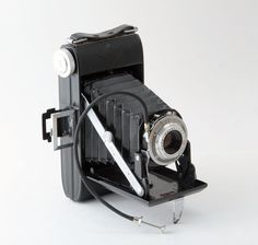 Agfa Billy 1 Folding Bellows 120 Roll Film Camera with by Tiddalik
