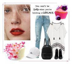 """CUPCAKE: Chill brah..."" by fun-time ❤ liked on Polyvore featuring Yves Saint Laurent, Tory Burch, STELLA McCARTNEY, Opening Ceremony and adidas"