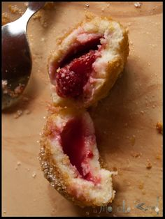 Homemade strawberry Knödel dumplings from scratch are a rare delight for the senses. I share my whole step by step recipe with pictures so that you can make your own! Austrian Desserts, Austrian Cuisine, Austrian Recipes, Croatian Recipes, Hungarian Recipes, German Recipes, Cookie Desserts, Dessert Recipes, Austria Food