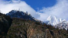 El Paine Grande visto desde el glaciar Grey