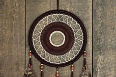 Dream catcher/ Dreamcatcher/Brown dream by MyHappyDreams on Etsy