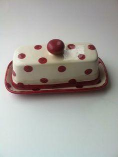 #Red #Polka #Dot #Butter #0ish by #kreatedbykymm at #Zibbet http://www.zibbet.com/kreatedbykymm?offset=1#navlink