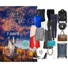 Fall packing list. 7 days.