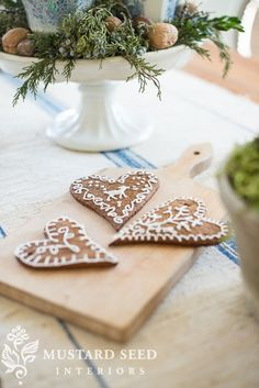 gingerbread-ing it up - Miss Mustard Seed