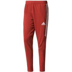 aa6307359628 adidas Men s ClimaCool Tiro 17 Soccer Pants - Red S