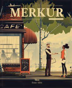 Feb 2016 Cover for Merkur Magazine