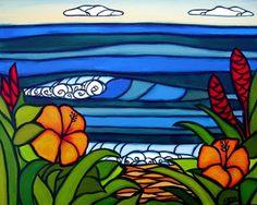 Heather Brown; hibiscus