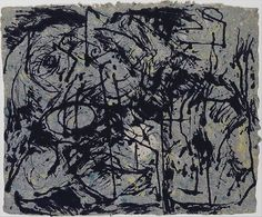 Jackson Pollock | Untitled 1952-1956 ink on paper. The Metropolitan Museum of Art jr