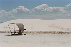 White sand, NM