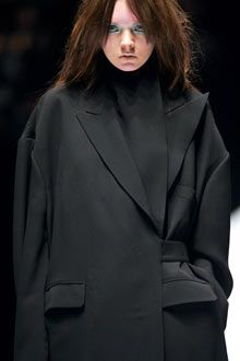 Back to black: Japanese designers such as Yohji Yamamoto, . Photograph: Pierre Verdy/AFP/Getty