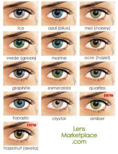 Solotica Natural Colors Color Contact Lenses