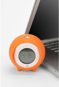 Tocky Rolling Alarm Clock -- snooze solution!