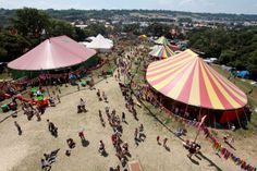 Glastonbury Festival of Contemporary Performing Arts Things That Bounce, Things To Do, Uk Festivals, Cuban, Sunday School, Fields, Families, June, Magic