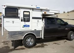 hawk flatbed popup truck camper four wheel xp at Camper Van, Pop Up Truck Campers, Popup, Free Pictures, View Image, Recreational Vehicles, Garage, Vans, Camper
