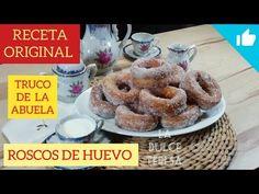 Roscos de huevo 3 TRUCOS para que duren tiernos por 7 días. Receta CASERA de la ABUELA (Padul). - YouTube Beignets, Spanish Desserts, Fritters, Flan, Cake Pops, Donuts, Cereal, Cooking, Breakfast
