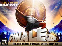 #TOP14 #Brennus2015 Réservez vos places le mardi 25 novembre dès 15h sur www.lnr.fr pour assister à la finale du TOP 14 Top 14, Rugby Championship, Mardi, November