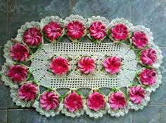 Resultado de imagen para tapetes barbante barroco com flores