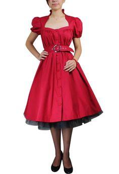 rockabilly valentine dress