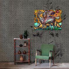 - Wojciech Ćwiertniewicz - Minimalism - Art In House Modern House Design, Contemporary Art, Interior Design, Gallery, Shop, Painting, Furniture, Home Decor, Nest Design