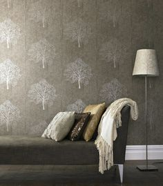 Halloween Wallpaper from Graham and Brown | Remodelista
