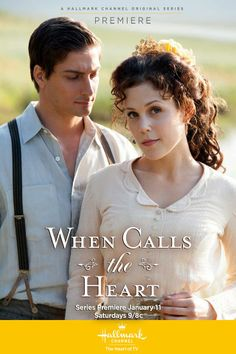 When Calls the Heart - Sweet new series. A TOTAL must-see everyone!!! Love, love, love  Jack (and Edmond from the pilot). <3<3