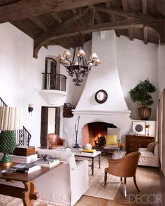 Reese Witherspoon's house 3-Elle Magazine 2012