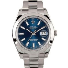 """239 Likes, 5 Comments - Watch Rob (@watchrob) on Instagram: """"My current dream watch @Rolex datejust II. With blue sunburst dial and smooth bezel. If I had…"""""""
