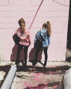Ariana Grande and her friend
