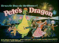 PETE'S DRAGON (1977). Original British Quad Poster