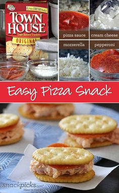 Pepperoni Pizza-wiches for Your Tailgate Party