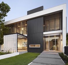 """1021 Gallery House by Craig Steere Architects, #Perth #Usa ..."""