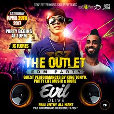 The Outlet - EDM Party Flyer Designed by Graphicwind For more info: web: www.graphicwind.com or please email us to graphicwind@gmail.com #graphicwind #Hiphop #djs #Mixtape #MusicArtist #MusicProductionVideos #Rap #EdmFlyer #EDMParty #Texas #PartyFlyer #LoungeParty