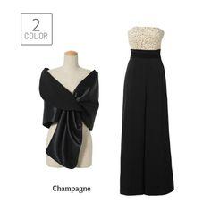 eb6b3152ae265  平子理沙☆パンツドレス パンツドレス結婚式パーティードレスパンツ大きいサイズ