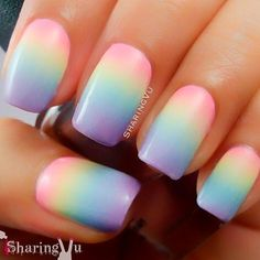 We have found 48 Trending Ombre Nail Designs! We are in love with Ombre Nails and just love the way nail artists make certain colors transcend in to each other even if you would imagine them being contrasting.