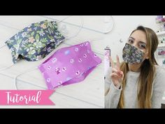 Masks with pocket for cloth filter FACILI – DIY Face Mask – face mask Sewing Hacks, Sewing Crafts, Sewing Projects, Diy Mask, Diy Face Mask, Paper Snowflake Template, Crochet Girls, Mask Design, Free Sewing