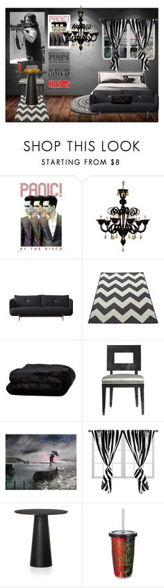 """My Dream Room."" by batgirl-at-the-disco3 ❤ liked on Polyvore featuring interior, interiors, interior design, home, home decor, interior decorating, WALL, Olivier Desforges and Moooi"