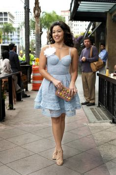 Jane the Virgin star Gina Rodriguez is ready to get personal. The actress recently chatted with Bust magazine and get super intimate. Gina Rodriguez, Zooey Deschanel, Taylor Swift, Jane The Virgin, Hipster, Celebs, Celebrities, Girl Fashion, Fashion Design