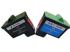 Remanufactured Ink Cartridge for Dell Color Printer 720(Black/Color)