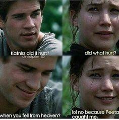 The Hunger Games Igrzyska Śmierci Katniss Gale forever alone peeta
