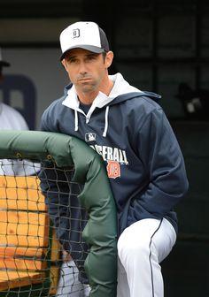 Brad Ausmus; Detroit Tigers manager
